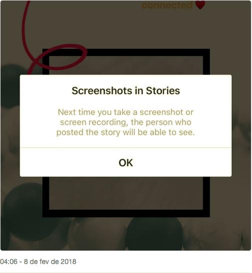 O Instagram não irá mais Notificar as Pessoas quando você Capturar os Stories delas 2 - FAMA Marketing Digital