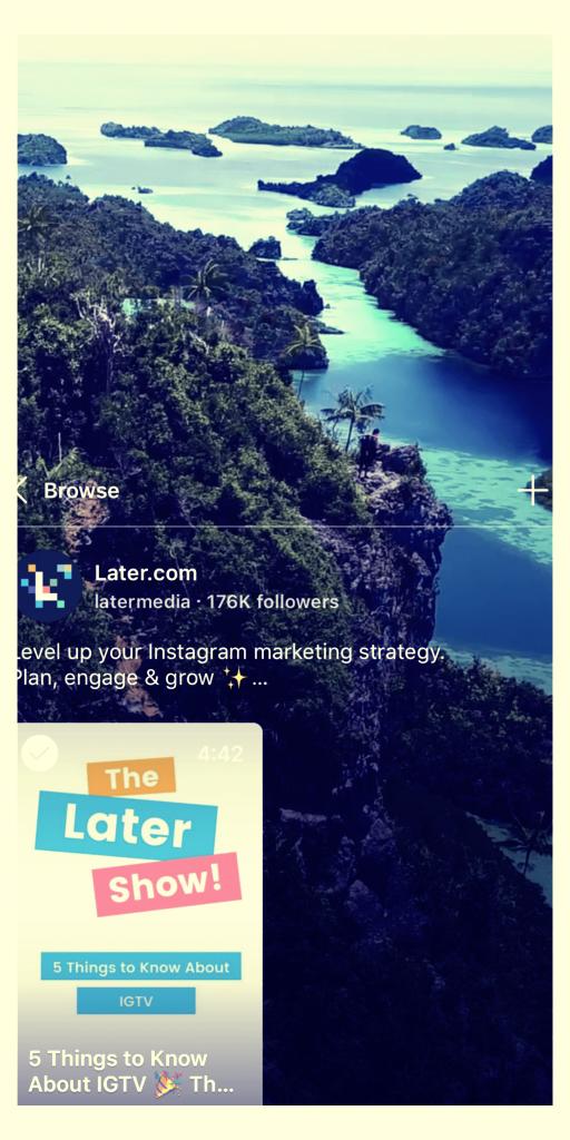 IGTV_ O Melhor Guia Para A Nova Plataforma De Vídeos Do Instagram! 13 - FAMA Mkt Digital
